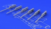 Browning M-2 Guns (6) (Resin) 1/48 Eduard