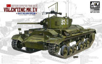 British Mk III Valentine Mk IV 1/35 AFV Club