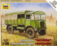 British Matador Truck (Snap Kit) 1/100 Zvezda