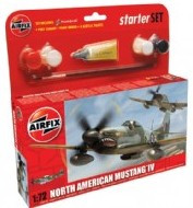 North American Mustang IV Starter Set 1/72 Airfix