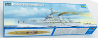 HMS Dreadnought WWI British Battleship 1907 1/350 Trumpeter