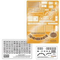 USS Enterprise (Orignal Series) Supplemental Photo-Etch/Decal Set for PLL 1/350 Paragrafix