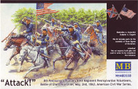 8th Pennsylvania Cavalry Regiment 1/35 Masterbox