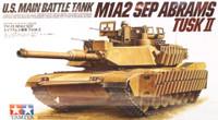 US M1A2 SEP Abrams TUSK II 1/35 Tamiya