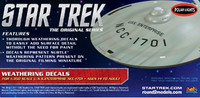 Star Trek Enterprise Weathering Decals 1/350 Polar Lights