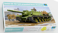 Soviet SU-152 Self-Propelled Heavy Howitzer EarlyProduction 1/35 Trumpeter