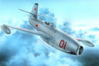 Yak-23 Flora Red & White Stars Fighter 1/72 Special Hobby