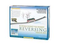 Nickel Silver E-Z Track Auto-Reversing System N Bachmann Trains