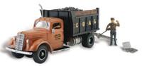Lumpy's Coal Company Truck N Scale Woodland Scenics