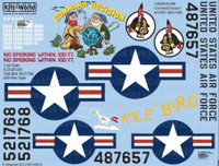 B-29 Command Decision, Kee Bird 1/48 Warbird Decals