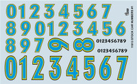 Stock Car Numbers 1/24-1/25 Gofer Racing Decals