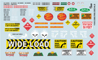 Big Rig Logos 1/24-1/25 Gofer Racing Decals