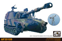 M109A2 Howitzer Gun w/M1A1 Collimator Aiming Device 1/35 AFV Club