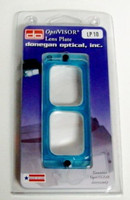 "OptiVisor Magnifier Glass Lens Plate 3-1/2x Power at 4""  Donegan Optical"