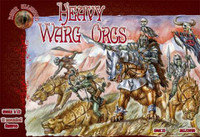 Heavy Warg Orcs Figures (12 Mtd) 1/72 Alliance