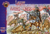 Light Warg Orcs Figures (12 Mtd) 1/72 Alliance