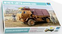 M1078 LMTV (Light Medium Tactical Vehicle) Cargo Truck w/Armored Cab 1/35 Trumpeter