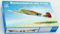 Messerschmitt BF109F-4/Trop German Fighter 1/32 Trumpeter