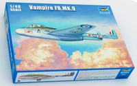 Vampire FB Mk 9 British Fighter 1/48 Trumpeter
