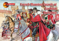 French Guards of Cardinal Richelieu (12 Mtd) 1/72 Mars Figures