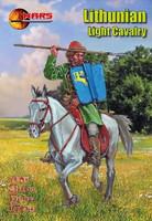 1st Half XV Century Lithuanian Light Cavalry (12 Mtd) 1/72 Mars Figures