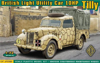 British 10hp Tilly Light Utility Car 1/72 Ace Models