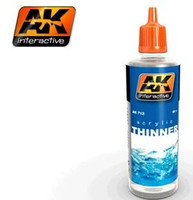 Acrylic Thinner 60ml Bottle AK Interactive