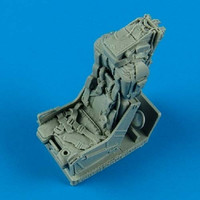 F-8 Ejection Seat w/Safety Belts 1/32 Quickboost