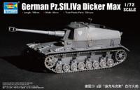 German Pz.Sfl.Iva Dicker Max Tank 1/72 Trumpeter
