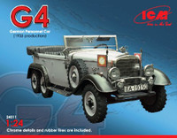 G4 1935 Production German Personnel Car  1/24 ICM Models