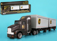 UPS Tractor w/2 Trailers (Die Cast)1/87 Real Toy