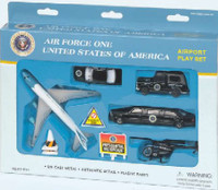 Air Force One Die Cast Playset (12pc Set) Real Toy