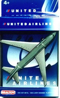 "United Airlines B747-400 (5"" Wingspan) (Die Cast) Real Toy"