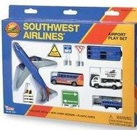 Southwest Airlines Die Cast Playset (13pc Set) Real Toy