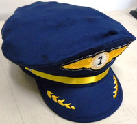 Airline Pilot Junior Size Cap Stevens Hats