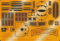 Nautilus Submarine Photo Etch Set for Pegasus 1/144 Paragrafix