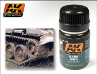 Dark Mud Enamel 35ml AK Interactive