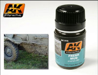 Fresh Mud Enamel 35ml AK Interactive