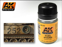 Fuel Stains Enamel 35ml AK Interactive
