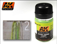 Slimy Grime Light Enamel 35ml AK Interactive