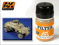Afrika Korps Filter Enamel 35ml AK Interactive
