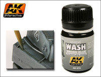 Brown Blue Wash Enamel 35ml AK Interactive