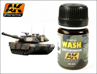 NATO Vehicle Wash Enamel 35ml AK Interactive