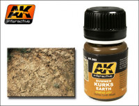 Summer Kursk Earth Ochre Wash Enamel 35ml AK Interactive