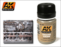 Engine Grime Enamel 35ml AK Interactive