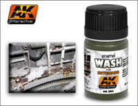 Interior Wash Enamel 35ml AK Interactive