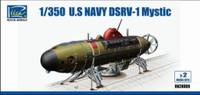 USN DSRV-1 Mystic 1/350 Riich