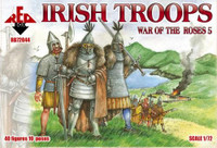 Irish Troops War of The Roses 5 1/72 Red Box Figures