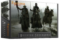 Deus Vult Mounted Sergeants 28mm Fireforge Games