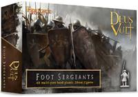 Deus Vult Foot Sergeants 28mm Fireforge Games